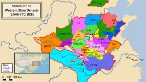 Western Zhou States