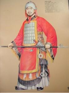 Western-Zhou-Dynasty-army-uniform-1