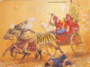 zhou chariot