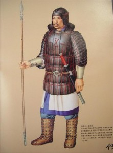 Eastern-Zhou-Dynasty-army-uniform